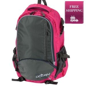 Dolfin Ready Room Swim Backpack in Pink